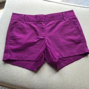 NWOT J Crew ladies chino shorts sz 4
